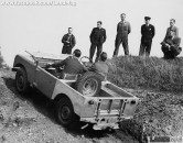 """Early Land Rover Series 1 80"""" SWB Off Road circa 1949"""