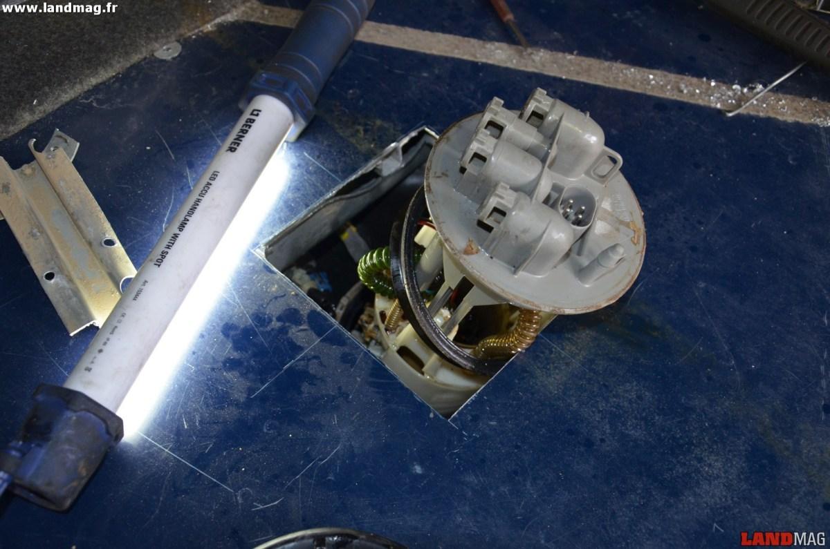 Méca : changer la pompe à Gasoil d'un Defender 90 Td5