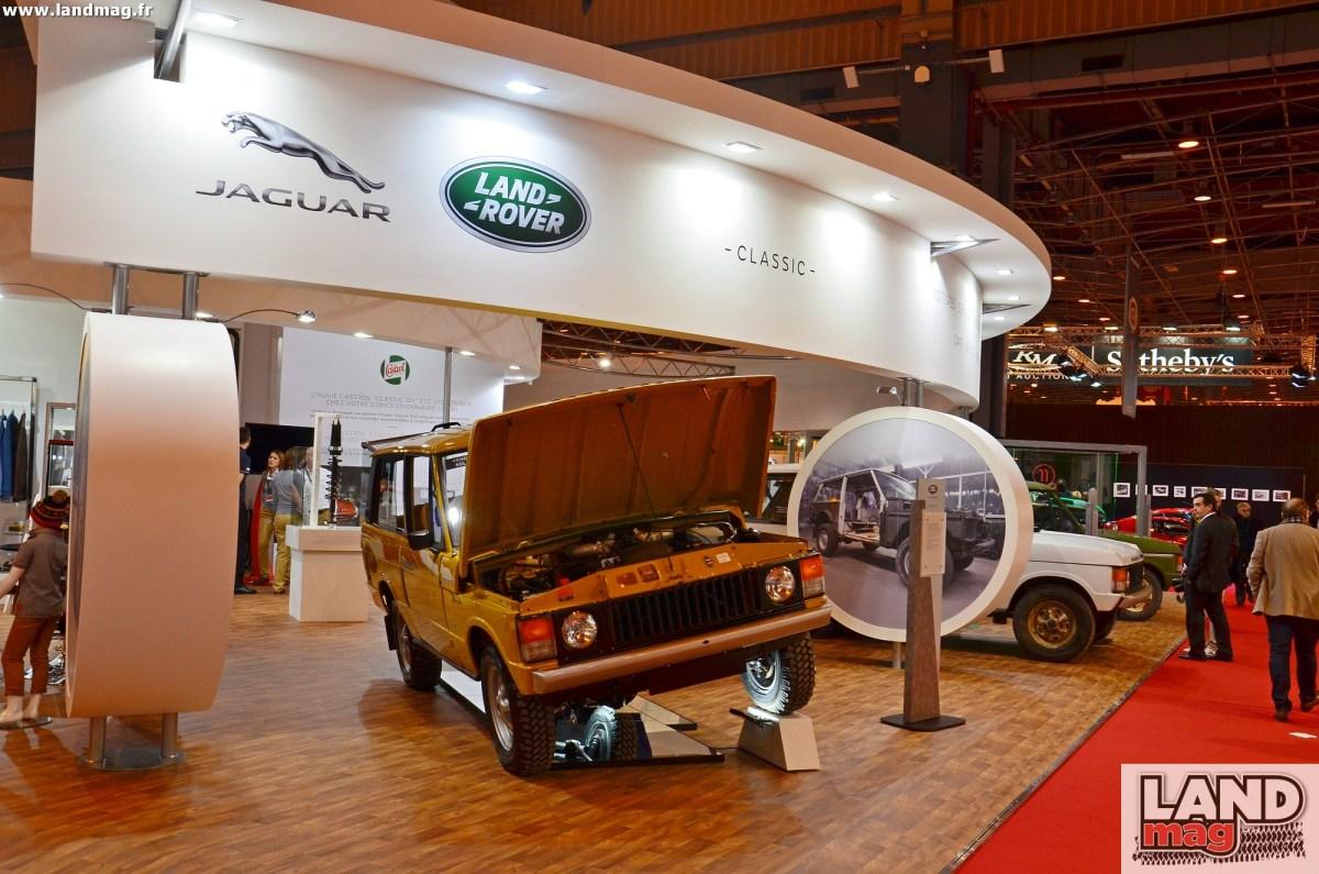 Land Rover: quels véhicules à Rétromobile 2019?