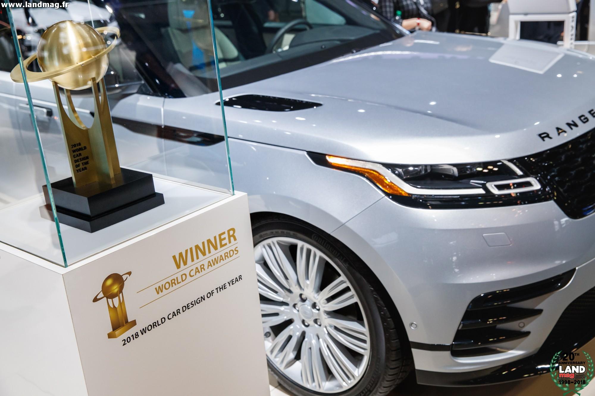 le range rover velar lu plus belle voiture du monde pour 2018. Black Bedroom Furniture Sets. Home Design Ideas