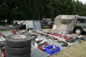 2° vide garage Land Rover à Pexiora @ Pexiora | Pexiora | Occitanie | France