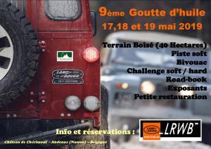 9ème Goutte d'Huile 2019 @ Château de Chérimont | Andenne | Belgique
