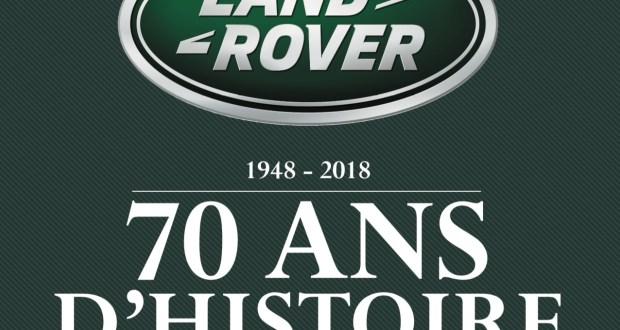 livre 70eme anniversaire land rover