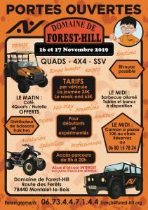Portes Ouvertes Novembre Domaine de Forest Hill @ Montalet le Bois | Montalet-le-Bois | Île-de-France | France