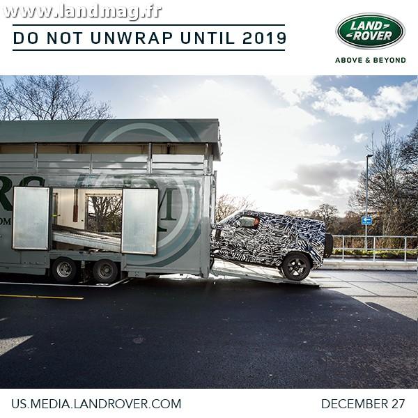 Futur Defender: première annonce officielle de Land Rover !