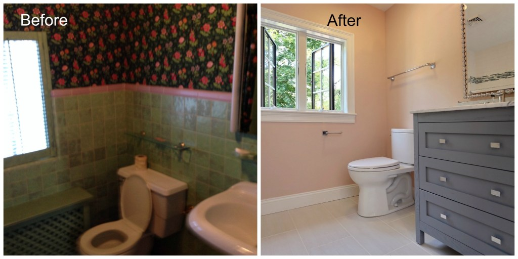 Bathroom Remodeling Leads Mesmerizing Water Damage Leads To Gut Remodel Of Brookline Home Part 2 . Inspiration Design