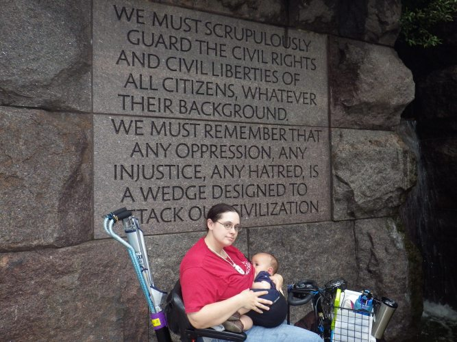 FDR Memorial Quote Wall