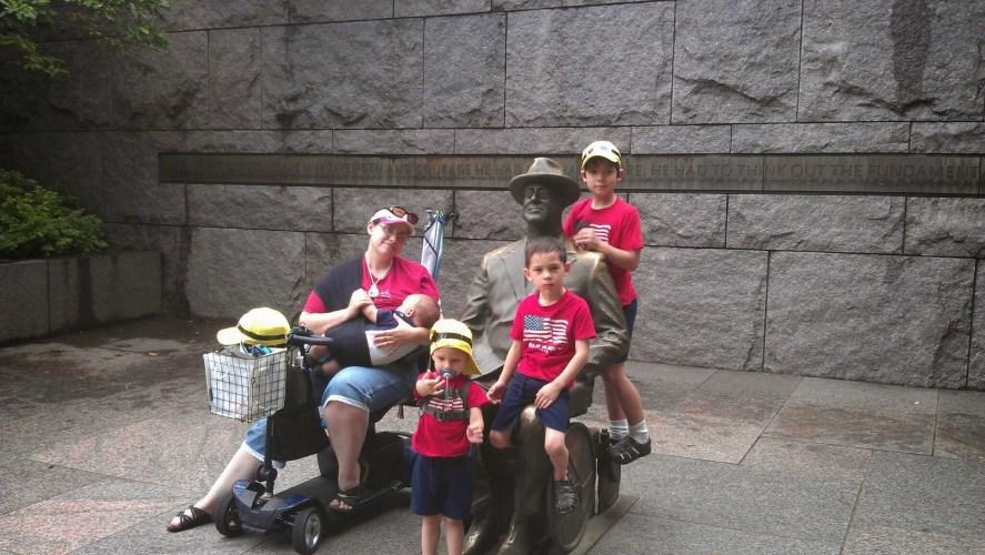 FDR Memorial statue