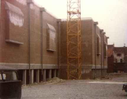Decascoop, in aanbouw, parking