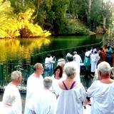 Pilgrimage Journal Jordan River Baptism