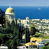 Bahai Shrine and Gardens on Mount Carmel in Haifa