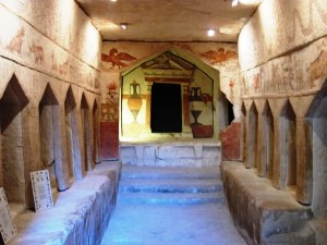 Beit Guvrin Maresha, Israel:  Sidonian Tomb of Apollophanes