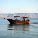 Sea of Galilee boatride