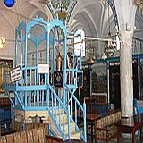 Safed: Abuhav synagogue interior