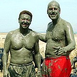 Dead Sea mud treatment