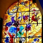 Chagall window of Joseph in Jerusalem