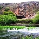 Roman city of Caesaria Philippi & source of the Jordan