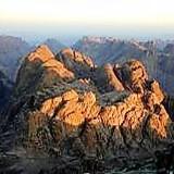 Mt. Sinai mountains at sunrise