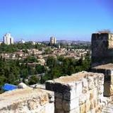 New Jerusalem from the Old City walls