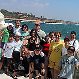 San Antonio family tour at Rosh Hanikra