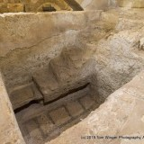 Mary's mikve ritual bath below the church of St. Joseph in Nazareth