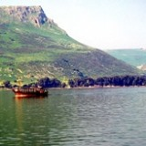 Sea of Galilee & Arbel cliffs
