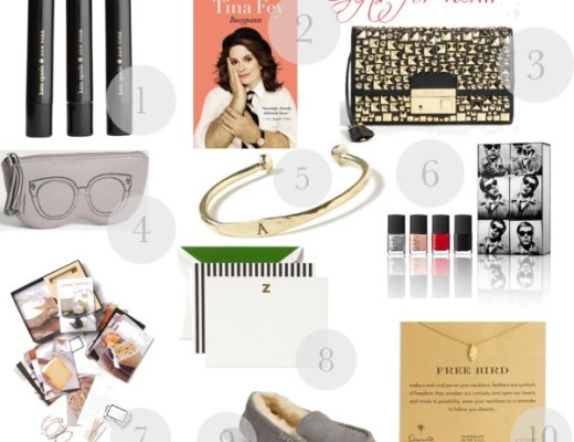 gift guide for her 2012