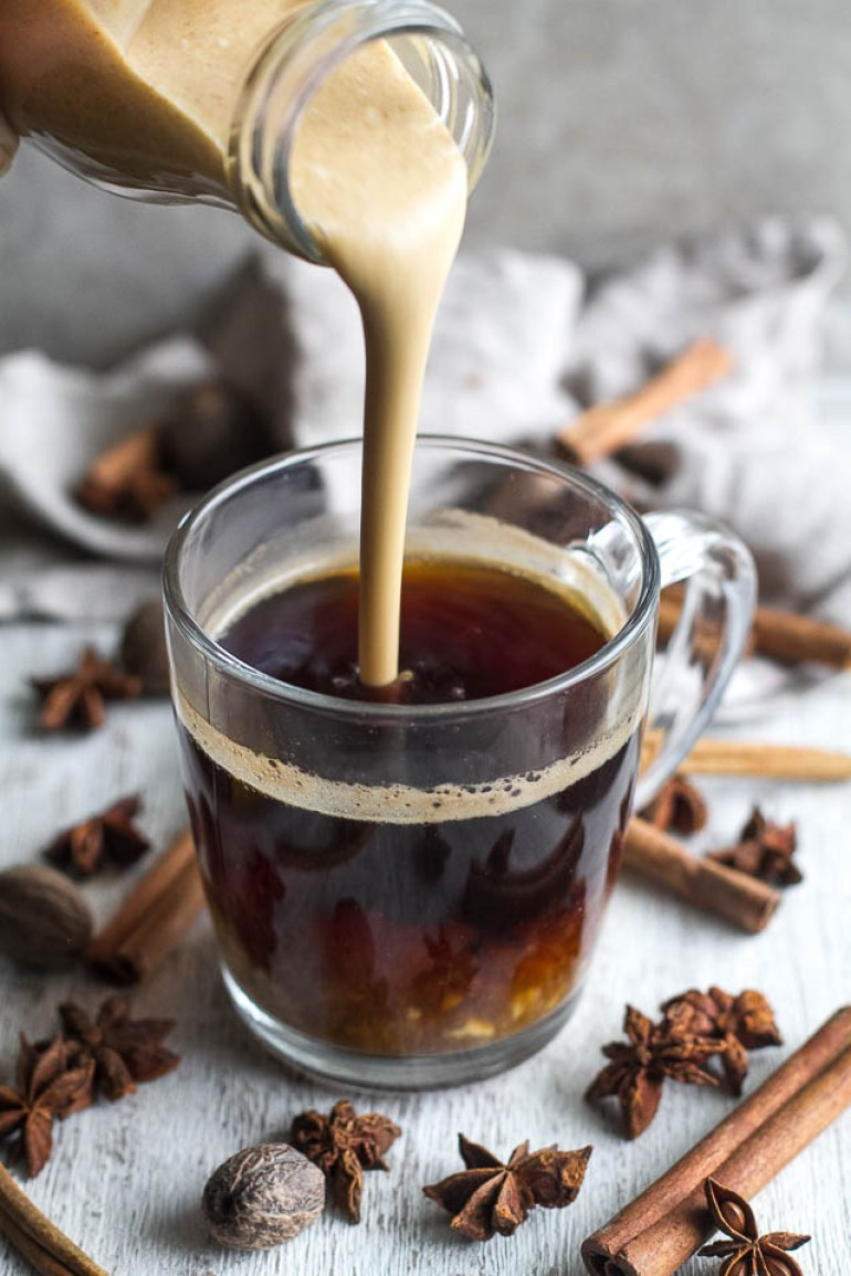 dairy free pumpkin spice coffee creamer