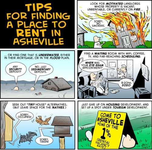 """Rental Guidance"" large vertical cartoon"