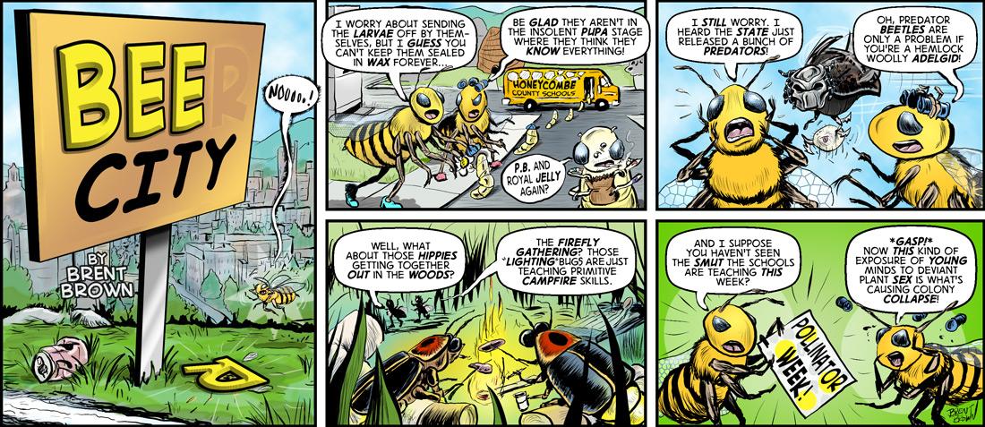 Bee City #1