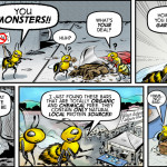 Bee City 3- horizontal by Brent Brown