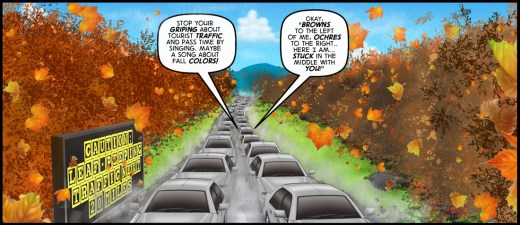 """""""Still at the Wheel"""" cartoon by Brent Brown"""