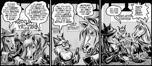 """Neigh Sayers"" cartoon by Brent Brown"