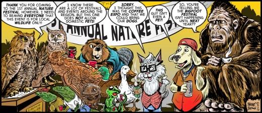 """Local WildLife"" cartoon by Brent Brown"