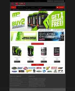 Web site Sports 1 Nutrition