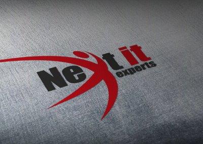 Diseño de logotipo e identidad total NEXT-IT
