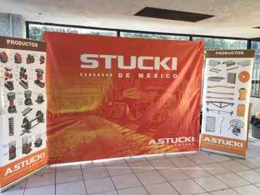 Rotulación para banners expo STUCKI