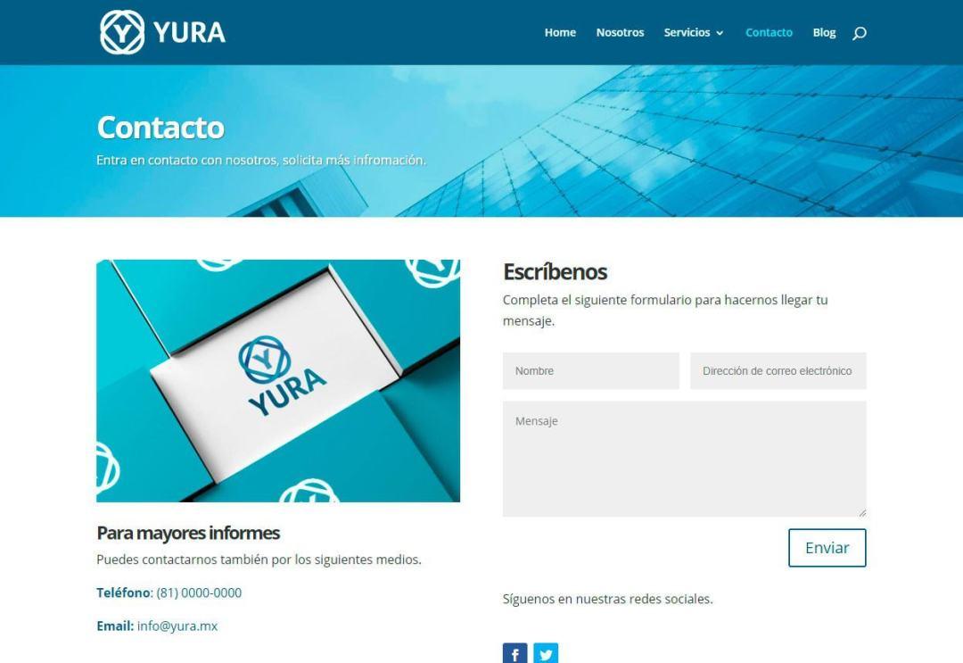 Contacto-YURA