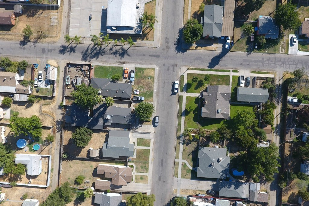 Chowchilla Lake Avenue Aerial Photo