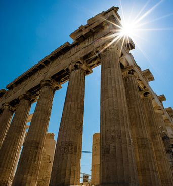 640px-Sun_over_Parthenon,_Athenian_Acropolis_(3-4_perspetive,_rear_facade)._Athens,_Greece