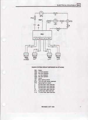 '94 NAS D90 radio wiring diagram?  Land Rover Forums