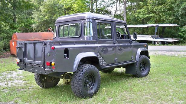Bonatti Gray Defender 110 Crew Cab Tdi Land Rover Forums