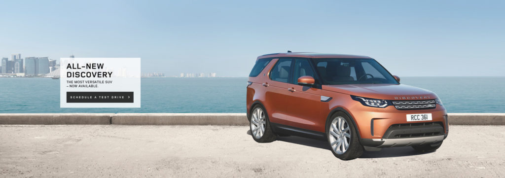Meet the all-new Land Rover Discover