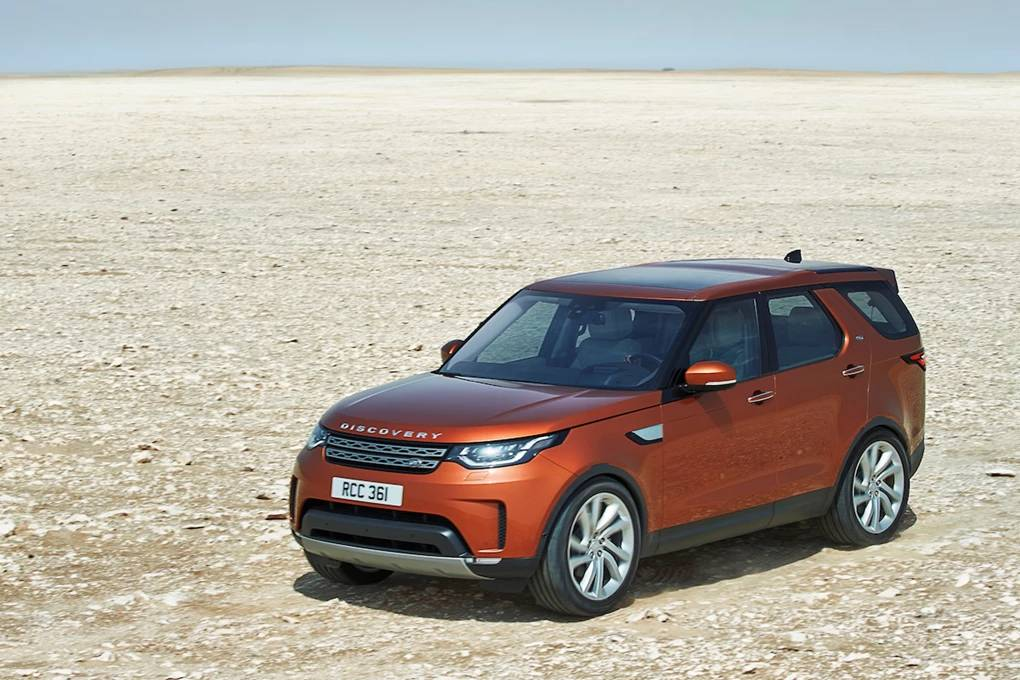 Top ten most practical cars to buy in 2018: Land Rover Discovery