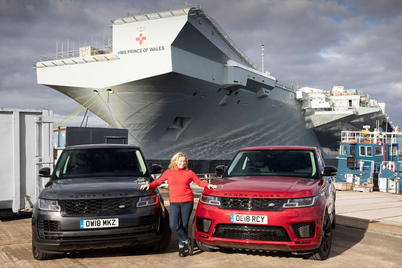 The Range Rover PHEV will float your boat