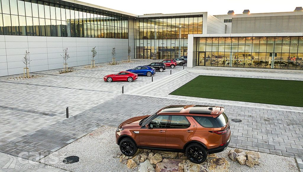 Jaguar Land Rover has opened its new Plant in Slovakia