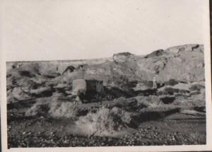 Road from Bou-Denib in Morocco