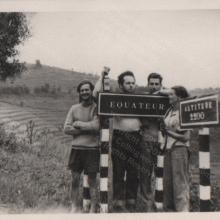 Equator Crossing January 1956
