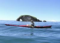 Kayaking on Kachemak Bay