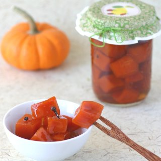 Pieces of pumpkin are transformed into sweet, glistening amber-colored jewels in this recipe for Pumpkin Preserves.